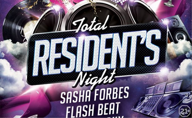 Total resident's night